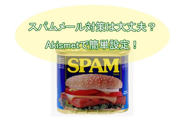 Akismetの設定方法とAPIキーの取得!コメントのスパム対策をしよう!